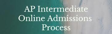 AP Intermediate Online Admission 2021
