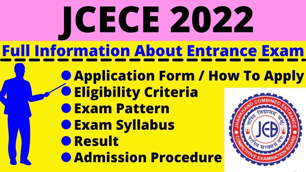 JCECE 2022 Exam